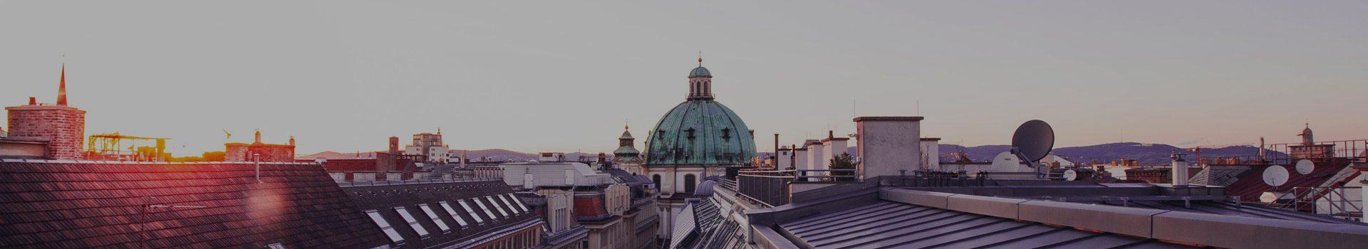 Die digital Agentur Digitalagentur liegt im Herzen Wiens und schaut über Wiens Dächer